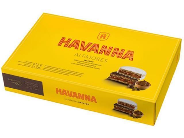 Combo Havanna Alfajores Mistos 12 Unidades e Pote Doce de Leite 450g - 1