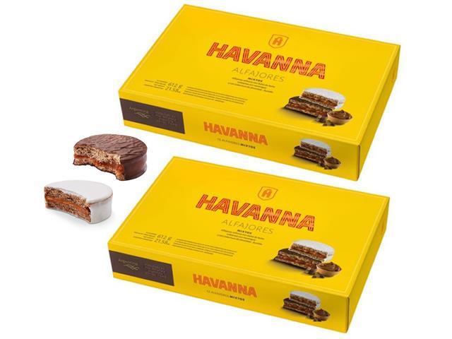 Combo Havanna Alfajores Mistos 24 Unidades