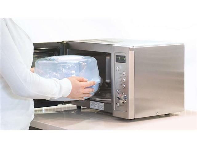 Esterilizador de Microondas Philips Avent para 4 Mamadeiras - 2