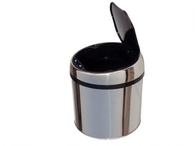 Lixeira com Sensor Tramontina Aço Inox 6 Litros - 2