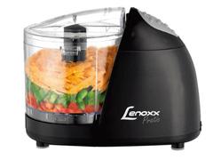 Miniprocessador de Alimentos Lenoxx Pratic Black