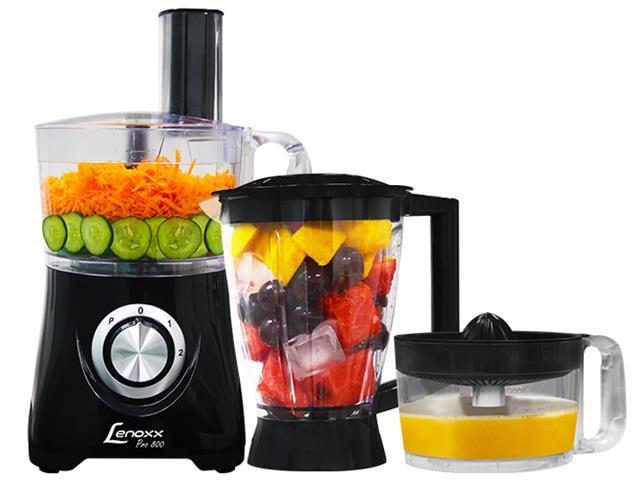 Multiprocessador de Alimentos Lenoxx Pro 800