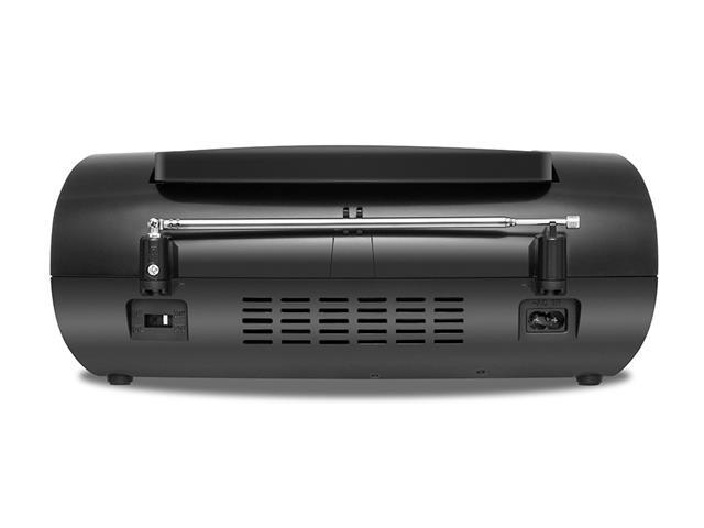 Rádio Portátil Mondial NBX06 Entrada USB, Auxiliar e Rádio FM Preto - 3