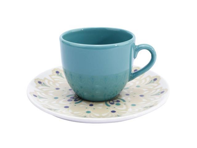 Aparelho de Jantar e Cha Oxford Porcelanas Coup Lindy  - 20 pecas - 1