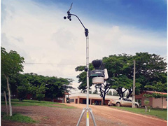 Estação Meteorológica VP2 com Datalogger IP