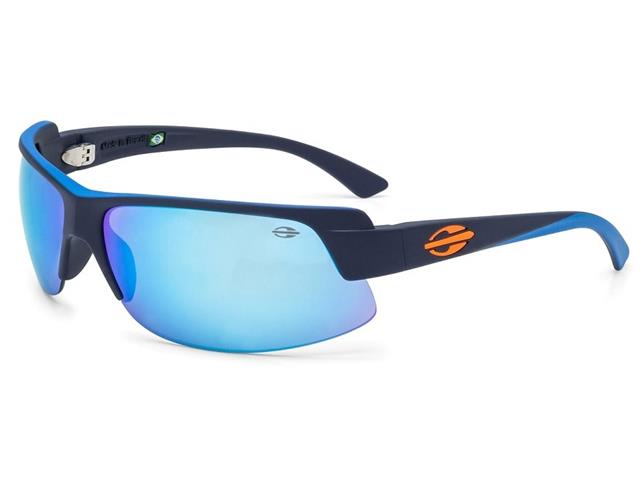 Óculos de Sol Mormaii Gamboa Air 3 Azul Escuro Com det. Azul Claro Fco