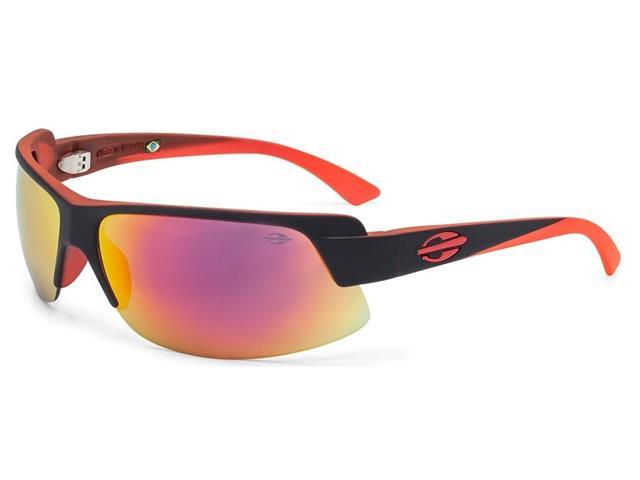 Óculos de Sol Mormaii Gamboa Air 3 Pto Parede Com Vermel. Fluor Fosco