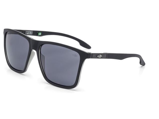 98ae50ccc2085 Oculos de Sol Mormaii Hawaii Preto Fosco com Translucido