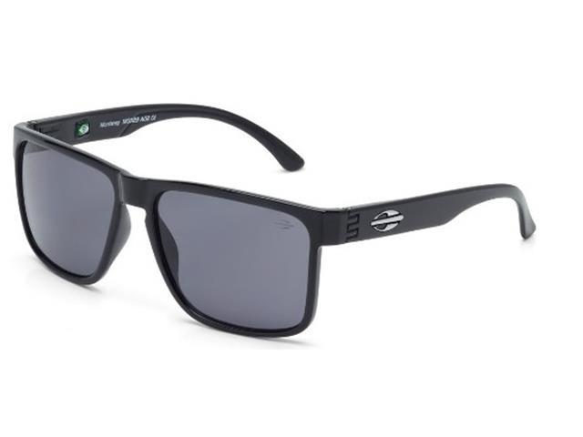 Óculos de Sol Mormaii Monterey Preto Brilho