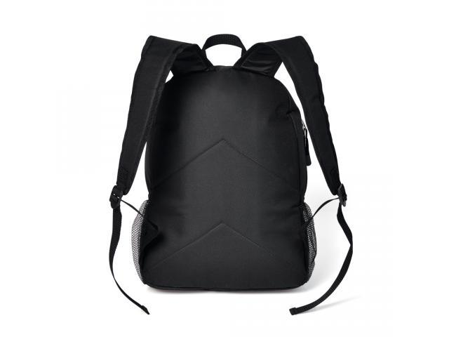 Mochila preta em polyester c/ compartimento para Notebook - Welf - 2
