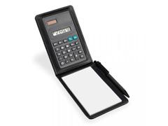 Calculadora com bloco de anotações 30 folhas