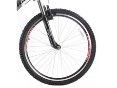 Bicicleta Aro 26 Track Bikes MTB Downhill Boxxer Full 21 V Branco - 2