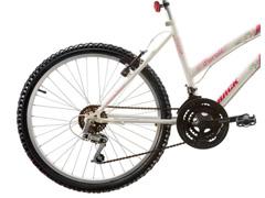 Bicicleta Aro 24 Juvenil Track Bikes Parati  18 V Branca - 1