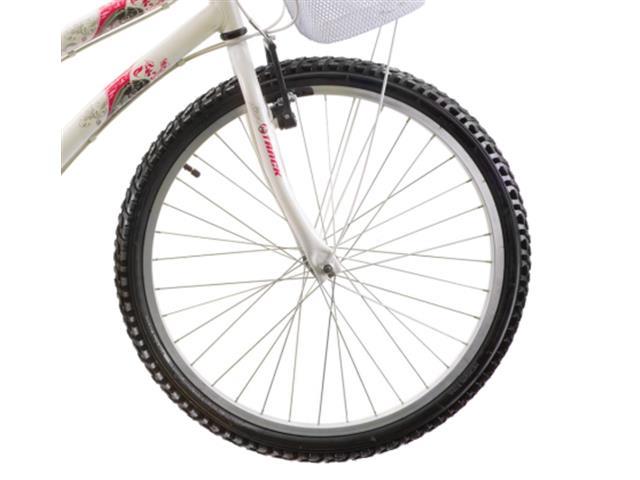 Bicicleta Aro 24 Juvenil Track Bikes Parati  18 V Branca - 2