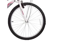 Bicicleta Aro 24 Juvenil Track Bikes Parati  18 V Branca/ Rosa - 2