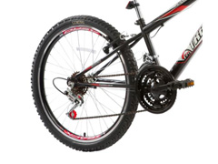 Bicicleta Aro 24 Juvenil Track Bikes Axess 18 V Unissex Branco/ Preto - 2