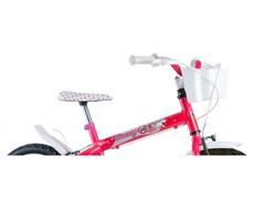 Bicicleta Aro 16 Infantil com Cesta Track Bikes Monny Pink Neon - 2