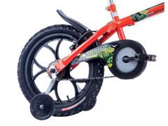 Bicicleta Aro 16 Infantil Track Bikes Dino Neon Laranja - 3