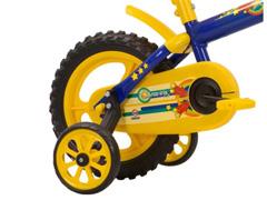Bicicleta Aro 12 Infantil Track Bikes Arco-Iris Azul/ Amarelo - 1