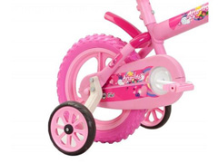 Bicicleta Aro 12 Infantil Track Bikes Arco-Iris Rosa - 1