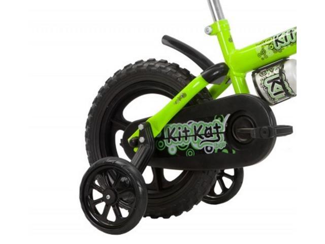 Bicicleta Aro 12 Infantil Track Bikes Kit Kat Verde - 1