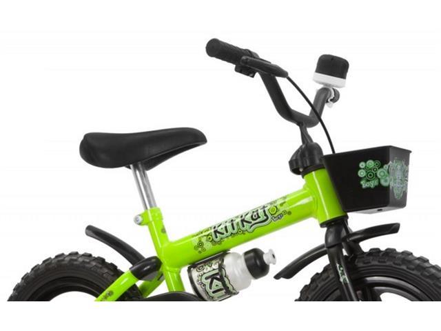 Bicicleta Aro 12 Infantil Track Bikes Kit Kat Verde - 3
