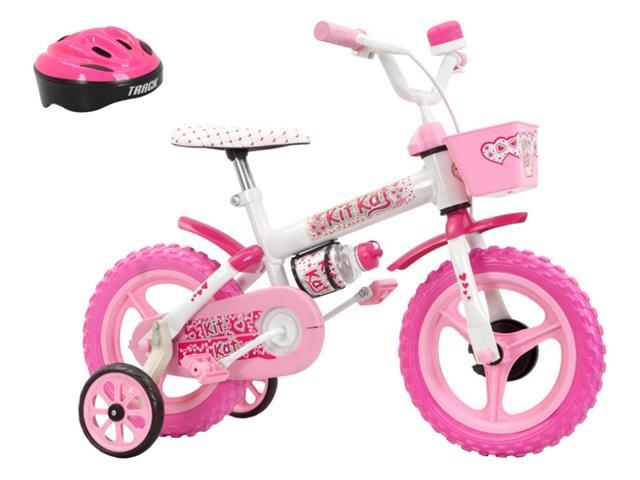 Bicicleta Aro 12 Infantil Track Bikes Kit Kat Rosa