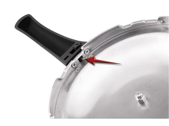 Panela de Pressão Rochedo Turbo Top Fechamento Externo 7,6 litros - 5