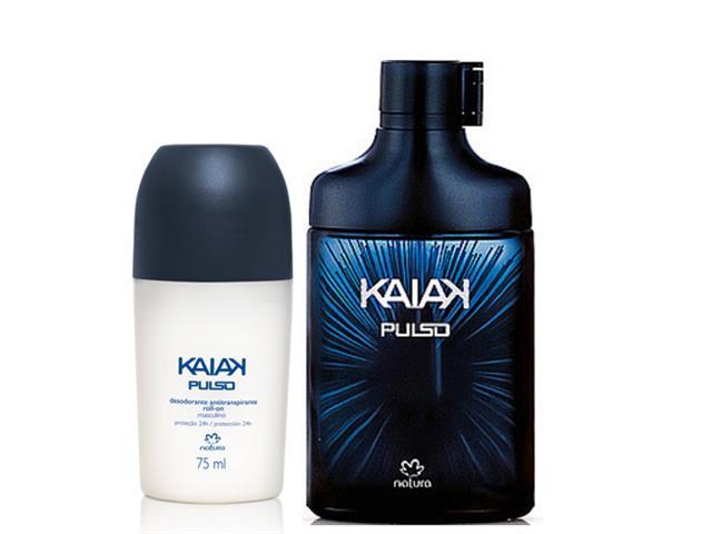 Combo Colônia + Desodorante Natura Kaiak PULSO Masc