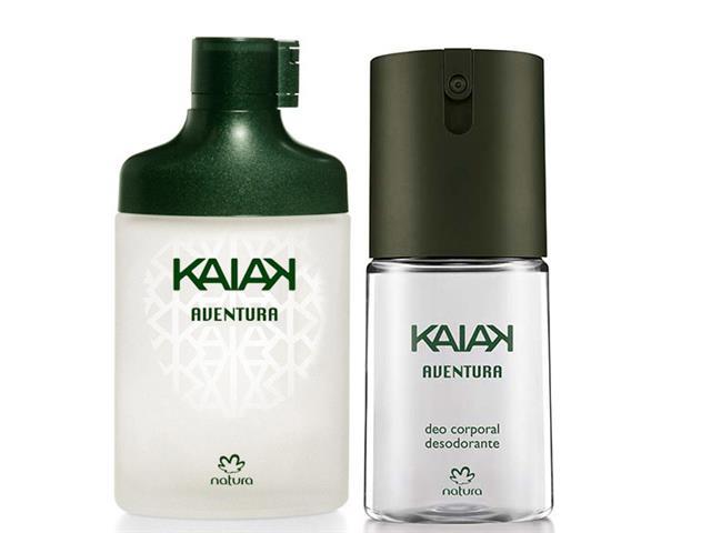 Combo Colônia + Desodorante Natura Kaiak Aventura Masc