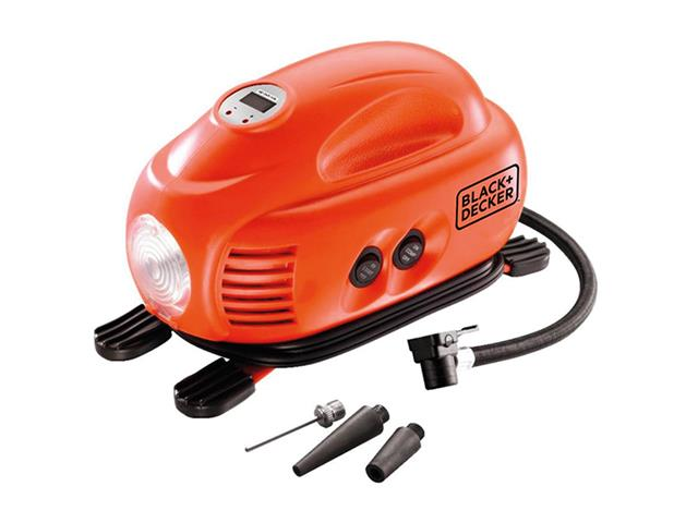 Mini Compressor Portátil Digital Multiuso Black&Decker 12 V - 0