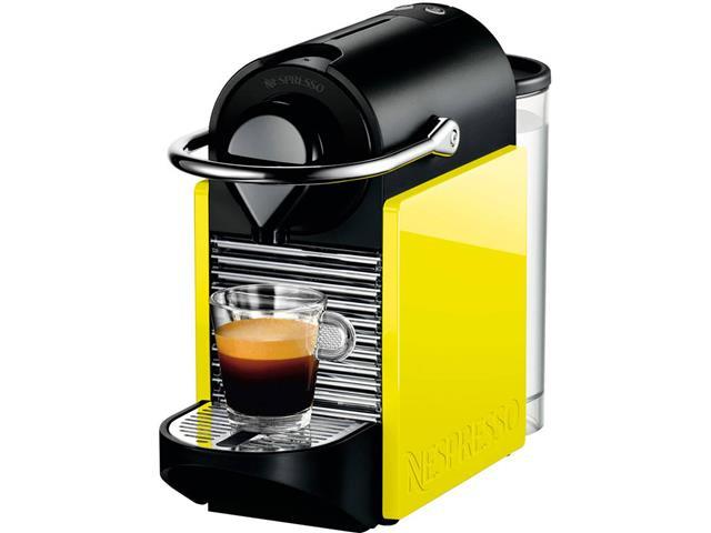 Cafeteira Nespresso Automática Pixie Clip C60 Preta e Lima Neon 110v - 2