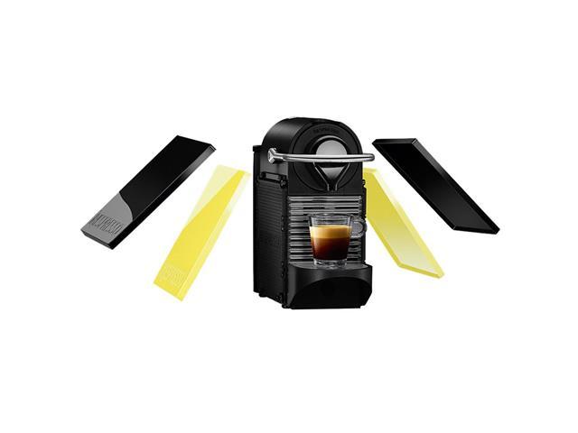 Cafeteira Nespresso Automática Pixie Clip C60 Preta e Lima Neon 110v - 1