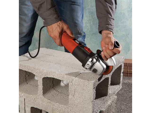 "Esmerilhadeira Angular 4-1/2"" Black&Decker 1000W - 5"