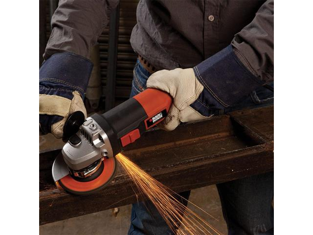"Esmerilhadeira Angular 4-1/2"" Black&Decker 1000W - 7"