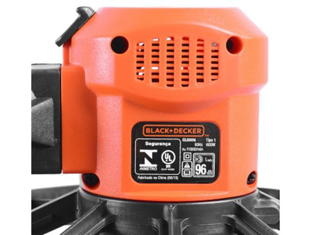 Aparador de Gramas Black&Decker 600W - 2