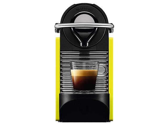 Cafeteira Nespresso Automática Pixie Clip C60 Preta e Lima Neon - 4