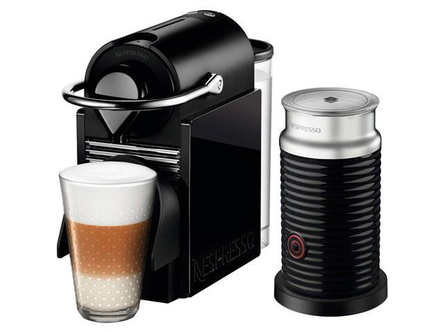 Kit Nespresso Pixie Clips Preto e Lima Neon & Aeroccino Preto - 3