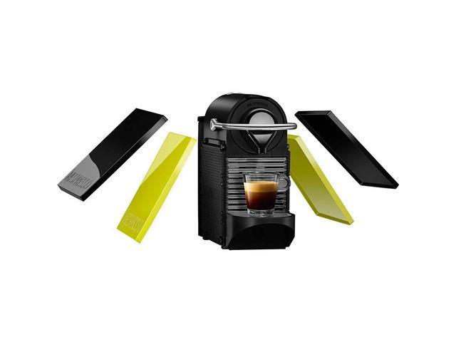 Kit Nespresso Pixie Clips Preto e Lima Neon & Aeroccino Preto - 4