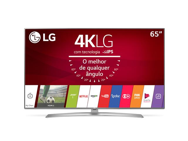 "Smart TV LED 65"" LG UltraHD 4K webOS 3.5 WiFi 4 HDMI 2USB Magic Mobile"