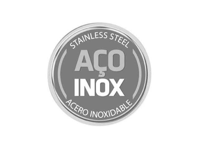 Frigideira Tramontina Ventura Antiaderente Aço Inox 20 cm - 2