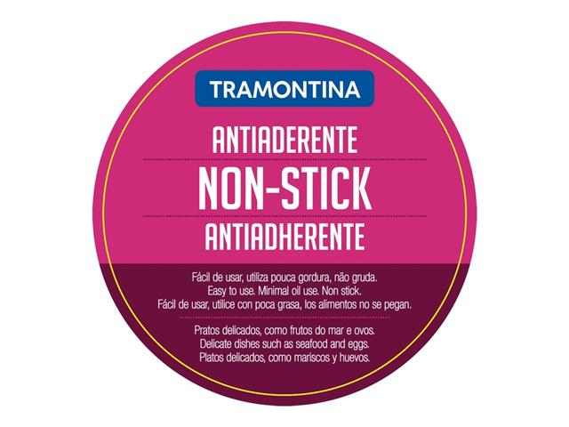 Frigideira Tramontina Ventura Antiaderente Aço Inox 20 cm - 4
