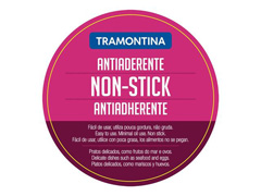 Frigideira Tramontina Ventura Antiaderente Aço Inox 24 cm - 4