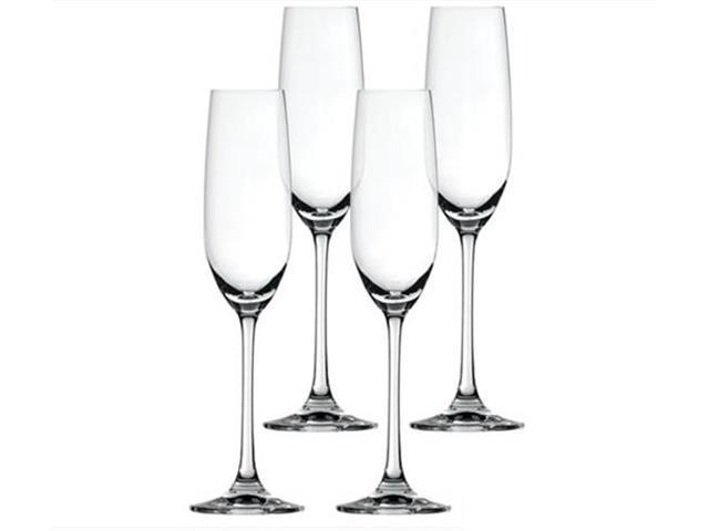 Conjunto de Taças para Vinho e Champanhe Spiegelau Salute 4 peças
