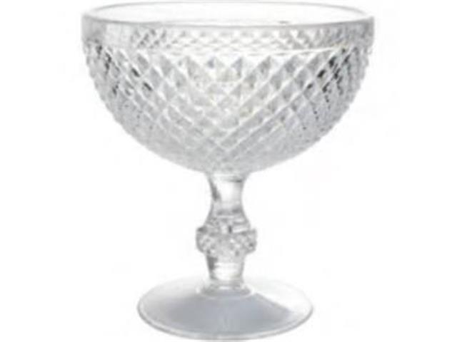 Taça para Sobremesa Diamond Kenya Acrílico 375 ml