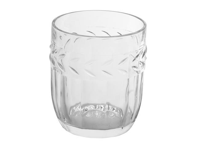 Copo Baixo Kenya Vidro Transparente Provance 280 ml