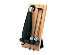 Faca Elétrica com Suporte Cuisinart Aço Inox