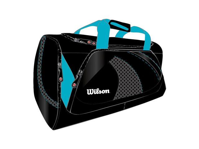 Bolsa Wilson Preta/Azul Claro - 1