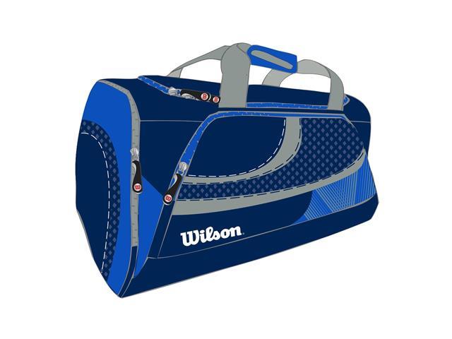 Bolsa Wilson Azul/Cinza - 1