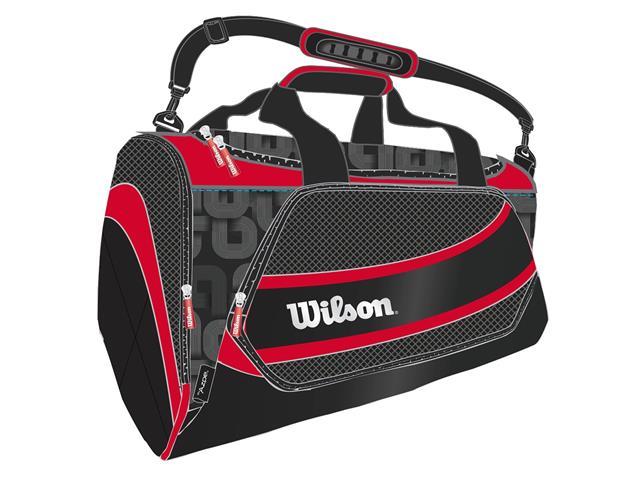 Bolsa Wilson Preta/Vermelha - 1